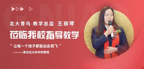 北大青鸟教学总监——王丽琴